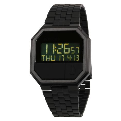Nixon Digitální hodinky 'Re-Run' černá