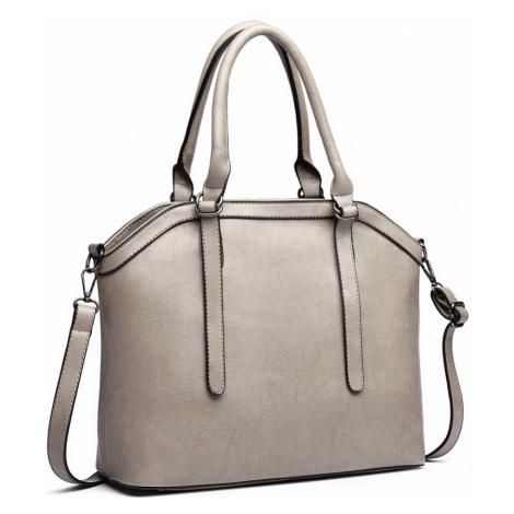 Šedá moderní elegantní dámská kabelka Formiel