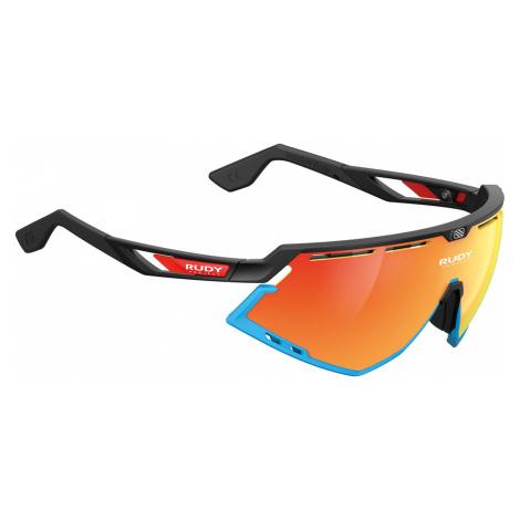 Cyklistické brýle Rudy Project DEFENDER BAHRAIN McLAREN BLACK MATTE - RP Optics MULTILASER ORANG