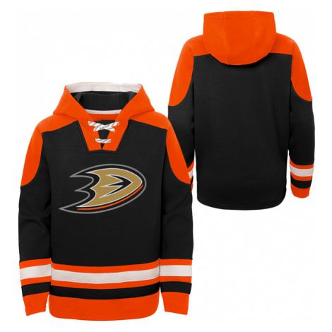 Dětská hokejová mikina s kapucí Outerstuff Ageless must have NHL Anaheim Ducks
