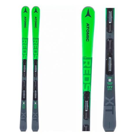 Sjezdové lyže Atomic REDSTER XT + M 10 GW zelená/šedá