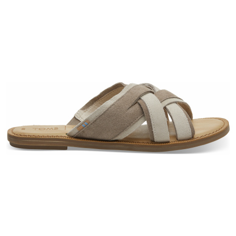 Desert Taupe Suede Women Val Sand Toms