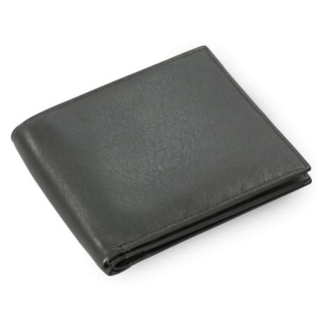 Černá pánská kožená peněženka Marien Arwel