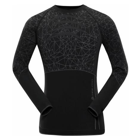 Pánské prádlo - triko Alpine Pro KRATHIS 4 - černo-šedá