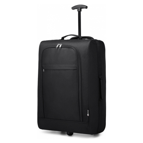 Černý cestovní látkový kufr / kabela Ancu Lulu Bags
