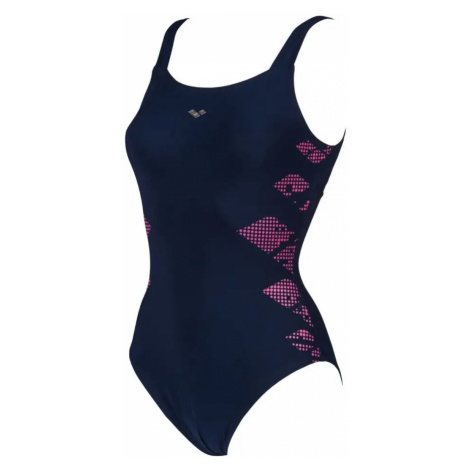 Plavky Arena Eva wing back - modrá
