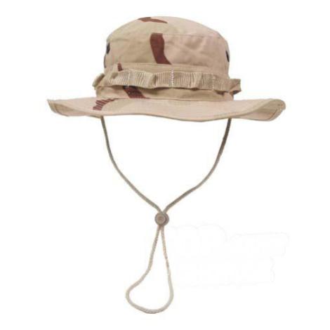 Klobouk MFH® US GI Bush Hat Rip Stop - desert Max Fuchs