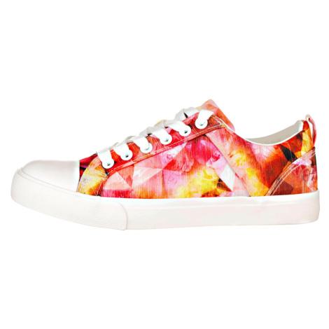 ALPINE PRO LAELIA Dámská městská obuv LBTR232421 teaberry