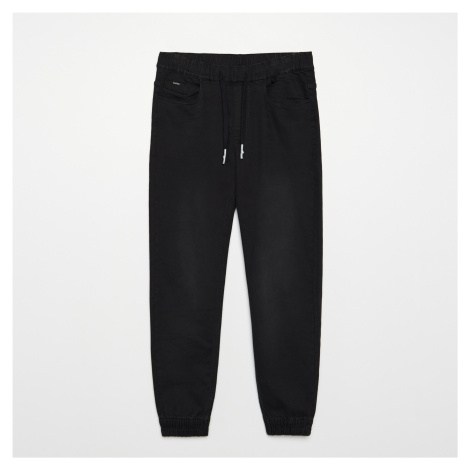 Cropp - Džínové joggery - Černý