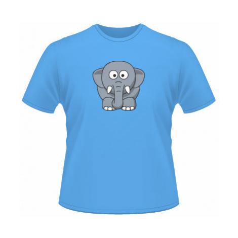 Pánské tričko na tělo Sloník