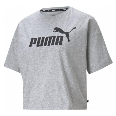 Puma Essential Crop Tee Ladies