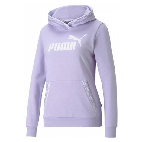 Dámská mikina Puma Amplified Hoodie TR Fialová