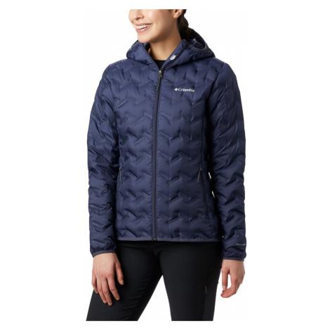 Bunda Columbia Delta Ridge™ Down Hooded Jacket W - tmavě modrá