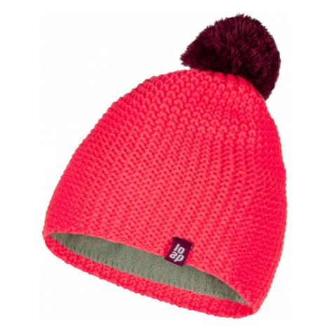 LOAP ZODO Dětská zimní čepice CSK1902J77H růžová