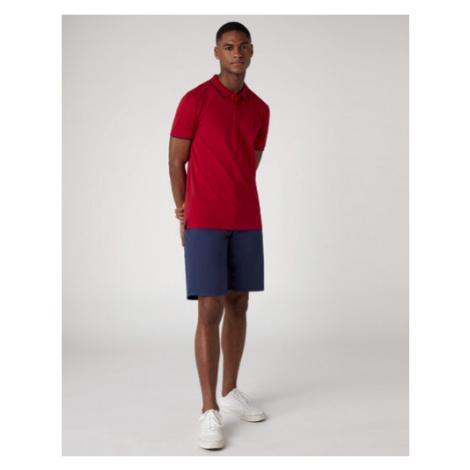 Wrangler pánské triko  SS PIQUE POLO RED