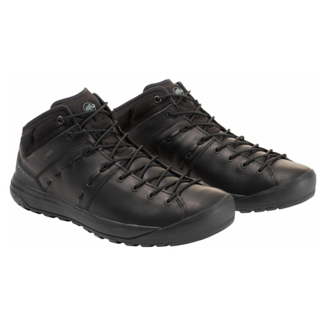 Pánska turistická obuv Mammut Hueco Advanced Mid GTX Men Black