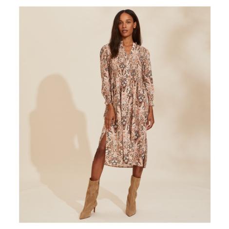 Šaty Odd Molly Anna Dress - Hnědá