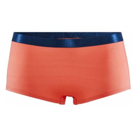 Dámské boxerky CRAFT Greatness Waistband oranžová