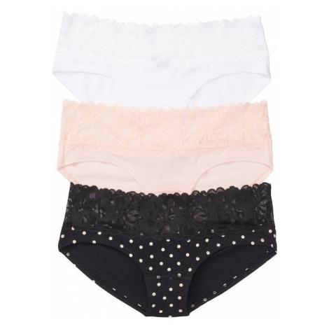 Victorias Secret set pohodlných bavlněných kalhotek Victoria's Secret
