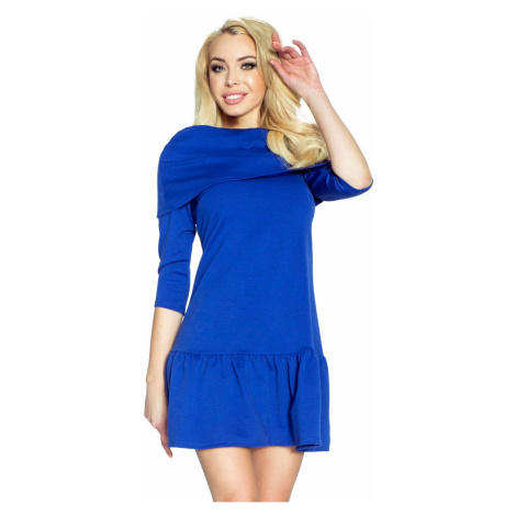 Modré šaty Francesca Bergamo