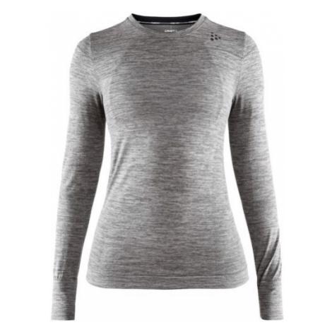Dámské tričko CRAFT Fuseknit Comfort LS světle šedá
