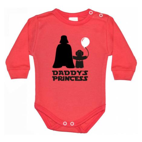 Dětské body s potiskem Star Wars Daddys Princess BezvaTriko