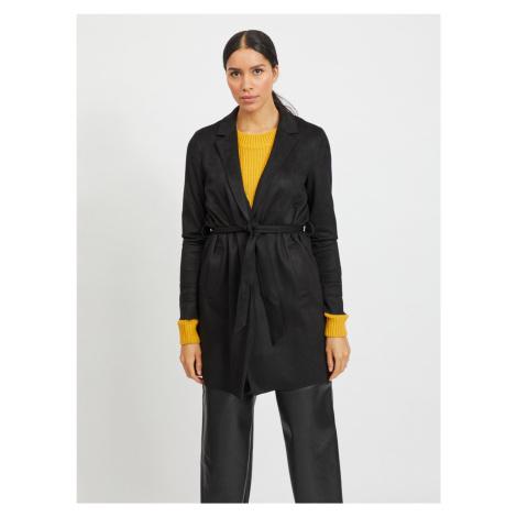 Vila černý lehký kabát