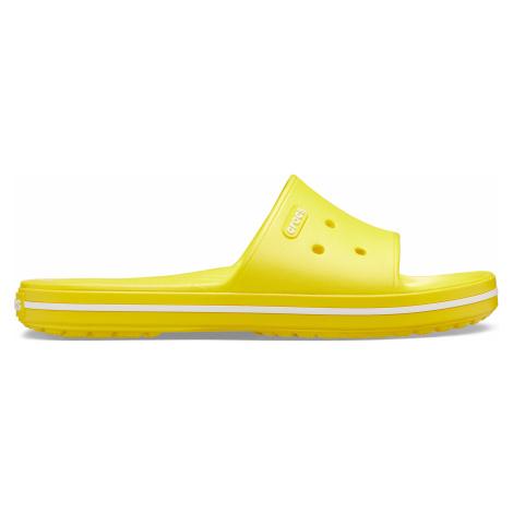 Crocs Crocband III Slide Lemon/White