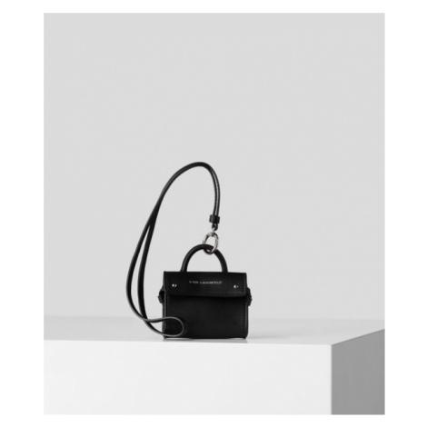 Taška Karl Lagerfeld K/Ikon Bag Leather Keychain
