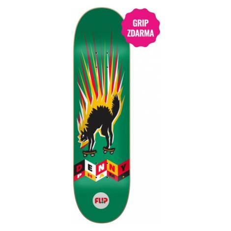 SK8 DESKA FLIP Denny Tin Toys - zelená