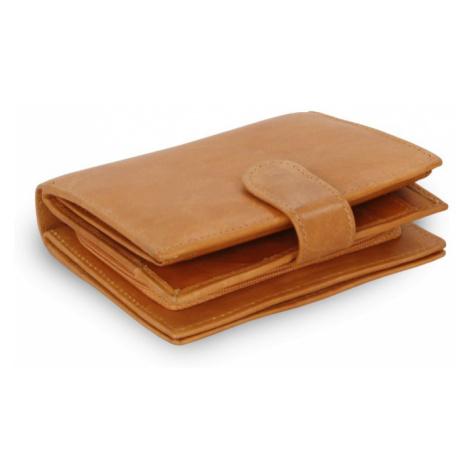 Světle hnědá dámská kožená peněženka Kendall Arwel