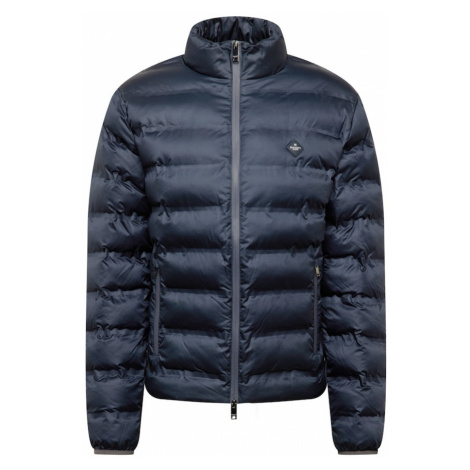 Hackett London Přechodná bunda tmavě modrá