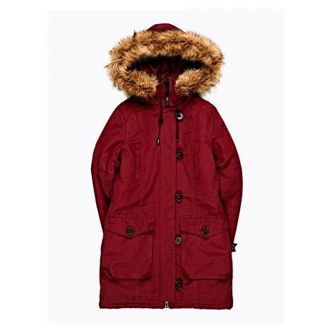 GATE Vatovaná bunda s kapucí