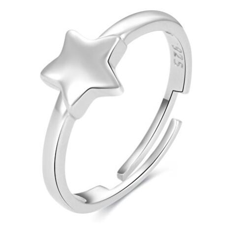 Beneto Hravý stříbrný prsten na nohu AGGF489