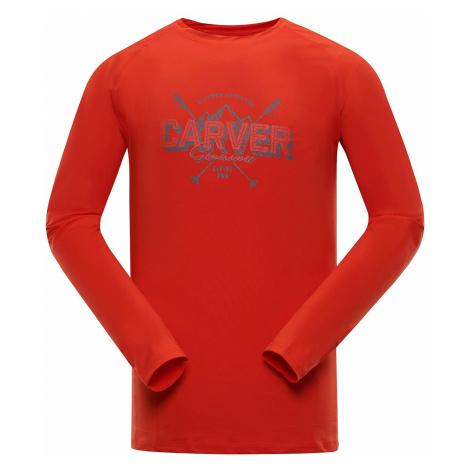 Pánské triko Alpine Pro TAR - červeno-oranžová