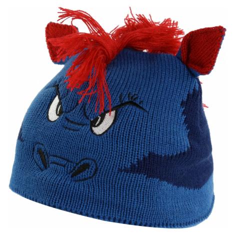 Dětská zimní čepice Regatta ANIMALLY III modrá