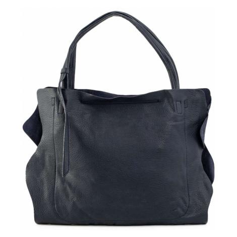 Women´s navy blue city bag Fashionhunters