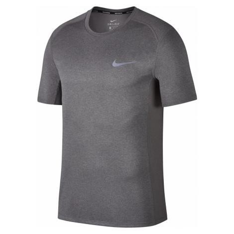 Tričko Nike Dry Miler Running Top Šedá