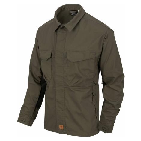Košile Woodsman Helikon-Tex® – Taiga Green / černá