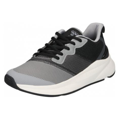 Hummel Sportovní boty černá / šedá / tmavě šedá