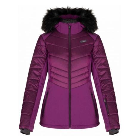Loap ODIANA fialová - Dámská lyžařská bunda
