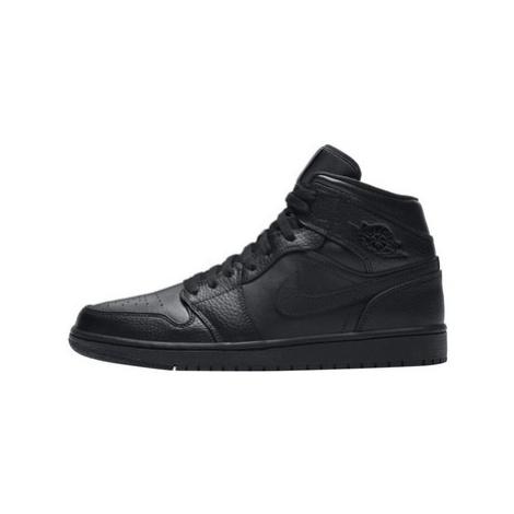 Nike Air Jordan 1 Mid Černá