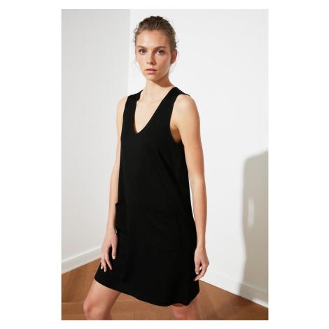 Trendyol Black Knitted Dress
