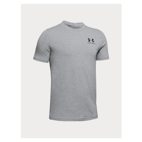Šedé klučičí tričko Under Armour