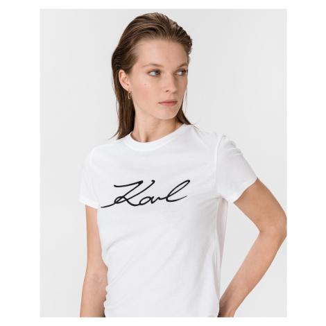 Logo Rhinestone Triko Karl Lagerfeld