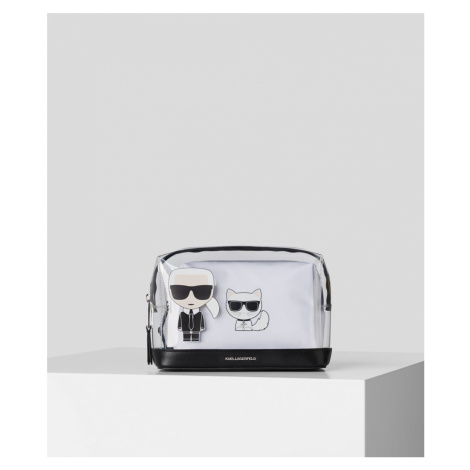 Taška Karl Lagerfeld K/Ikonik Transparent Pouch