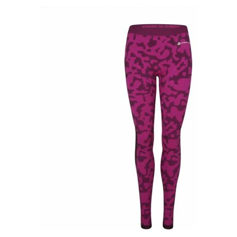 ALPINE PRO EMERA Dámské funkční spodní kalhoty LUNS071411PB fuchsiová