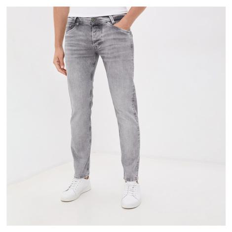 Pepe Jeans pánské světle šedé džíny Spike