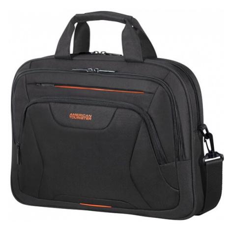 """American Tourister Taška na notebook At Work Laptop Bag 33G 15 l 15.6"""" - černá/oranžová"""
