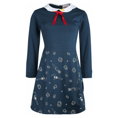 Sailor Moon 3D - Luna Šaty modrá